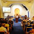 The Study day inside Sherwood URC