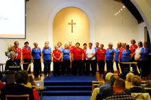 Lace City Chorus in their casual attire