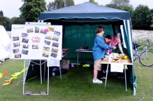 The Messy Church Tent