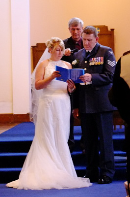 The Blessing - read by the Bride and Groom